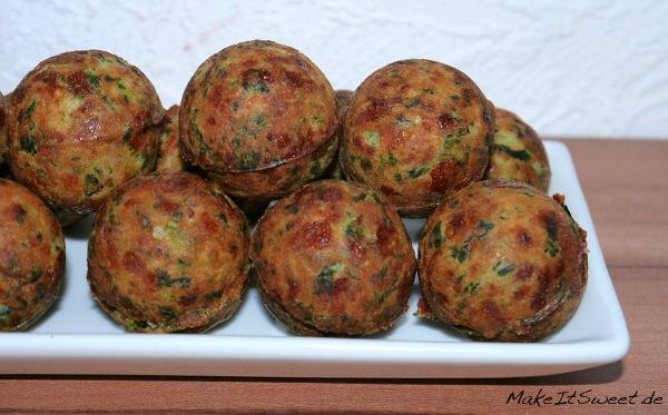 Spinat-Nuss-Käse-Kugeln-Rezept