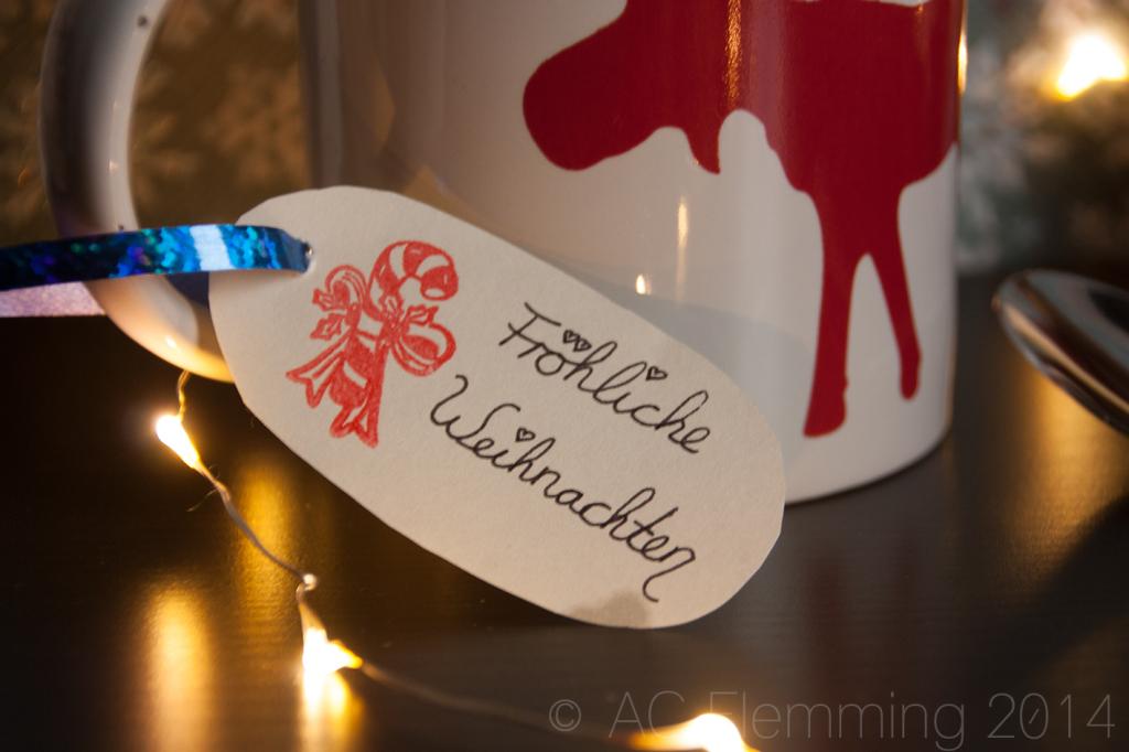 Weihnachtlicher Tassenkuchen 1