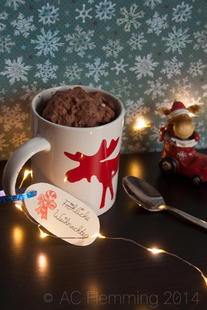 Weihnachtlicher Tassenkuchen 2