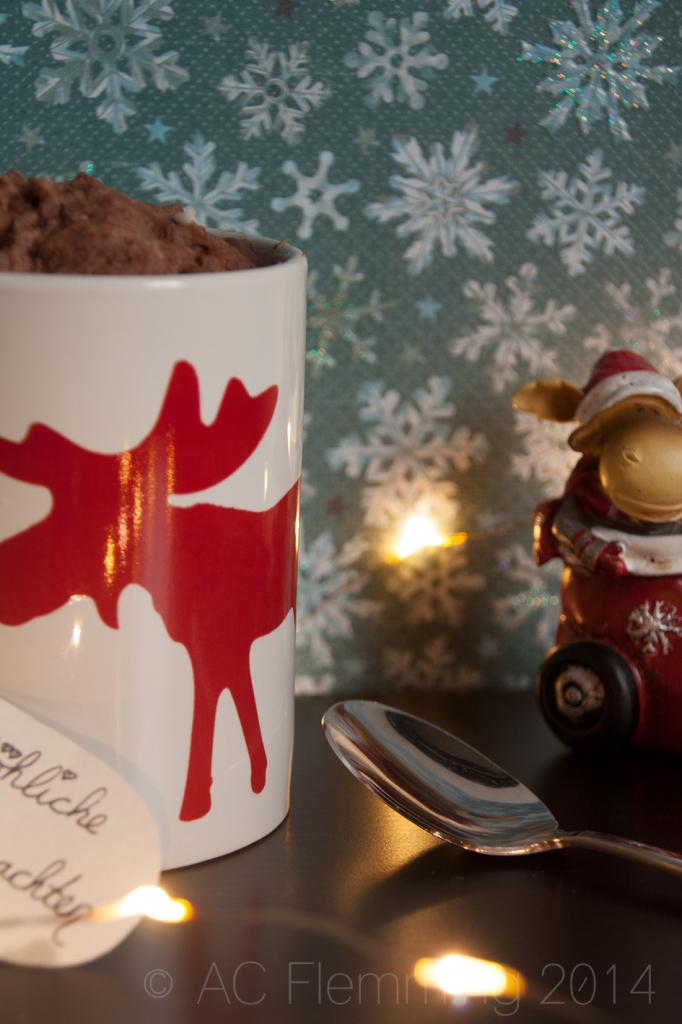 Weihnachtlicher Tassenkuchen 3