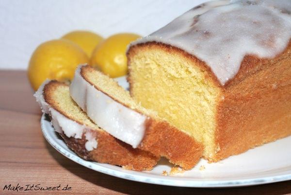 Zitronensandkuchen-Rezept-Rührkuchen