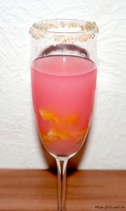 Prosecco Pudding mit Orange Aperitif Dessert Rezept fruchtig