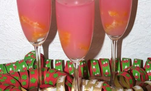 Proseccopudding mit Orange – Aperitif Rezept