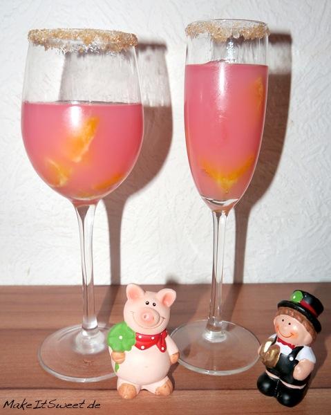 Proseccopudding mit Orange Aperitif Dessert Rezept Silvester