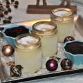 Vanillekipferlparfait mit Gluehwein-Kirschen Rezept
