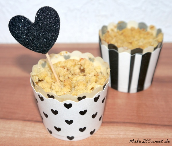 Apple-Crumble-Muffins Rezept