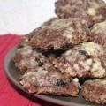 Cookies mit Beeren Schokolade zu Weihnachten Christmas-Cookies Rezept Kopie