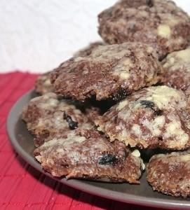 Berry-Christmas-Choco-Cookies Rezept