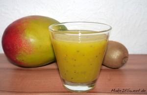 Kiwi-Mango-Smoothie Rezept