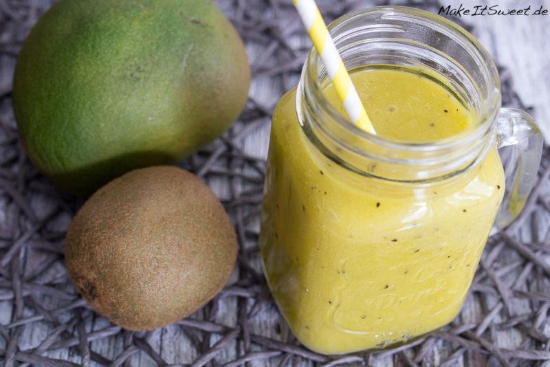 Kiwismoothie Mango Orange fruchtig Rezept