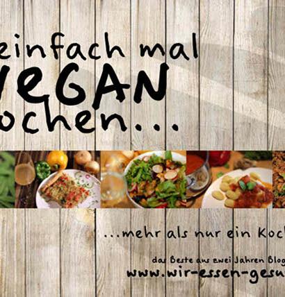 einfach mal vegan kochen Buchvorstellung