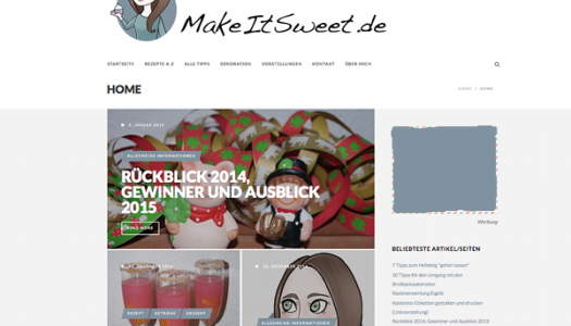 Neues Design online