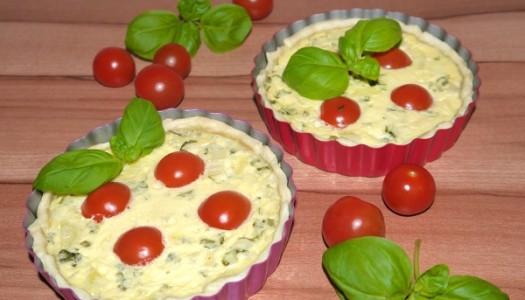 Tomate-Mozzarella-Tartelette Rezept