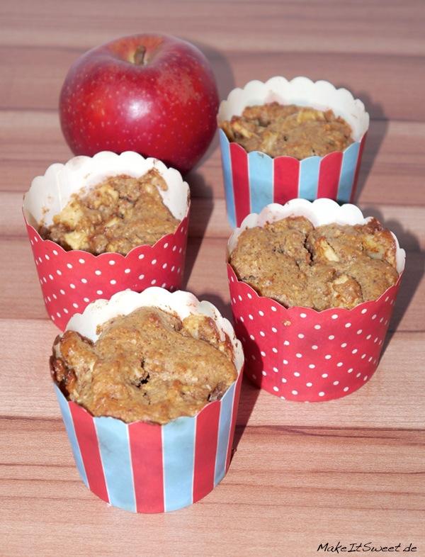 Vegane Apfel-Mandel-Muffins MakeItSweet.de 1