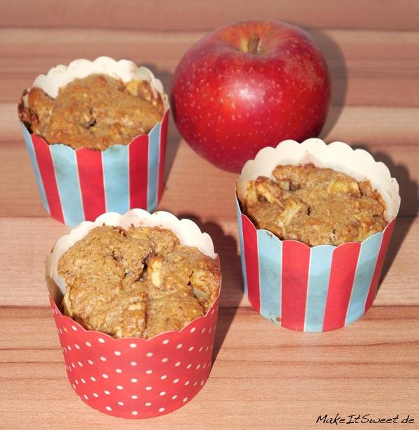 vegane apfel mandel muffins mit kokosbl tenzucker. Black Bedroom Furniture Sets. Home Design Ideas