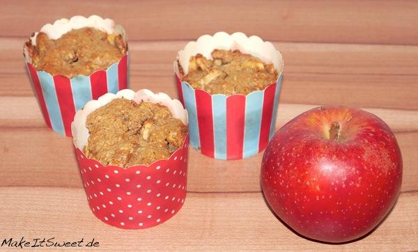 Vegane Apfel-Mandel-Muffins MakeItSweet.de 3