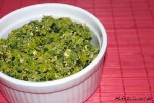 Lauch Pesto Resteverwertung