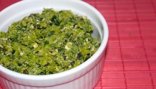 Lauch Pesto mit Kürbiskernen Rezept