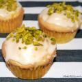 Muffin Rezept mit Mango Maracuja Pisatzie und Mandel einfach