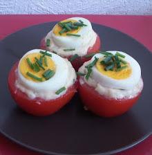 Tomaten Kartoffel Nester Rezept