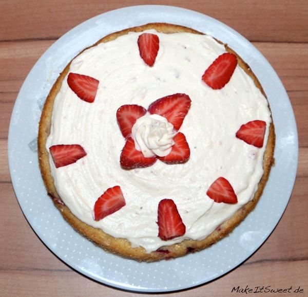 Erdbeer Schokolade Kuchen Rezept