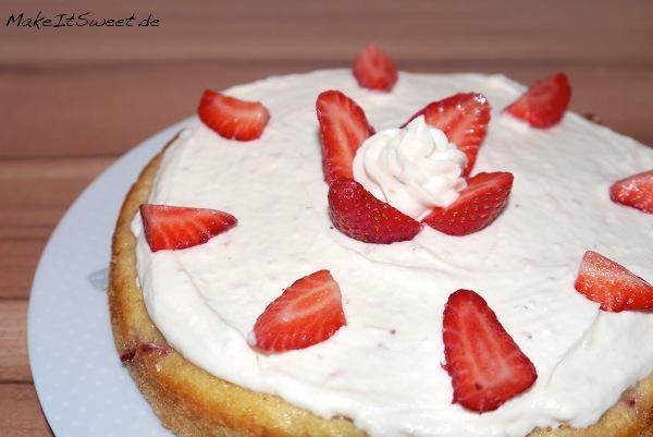 Erdbeere-Schokoladen-Kuchen Rezept