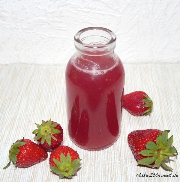 Erdbeersirup Rezept Erdbeere