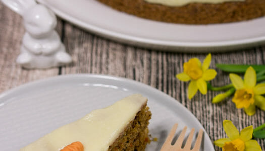 Karotten-Walnuss-Kuchen Rezept