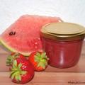Wassermelone-Erdbeer-Marmelade Rezept