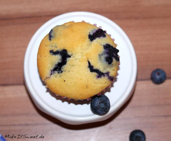 Blaubeeren Heidelbeeren Rezept Muffins einfach
