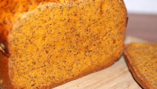 Tomaten-Mohn-Brot Rezept aus dem Brotbackautomat