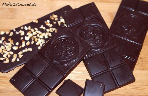 Chocqlate einfach selber machen Schokolade Zutaten