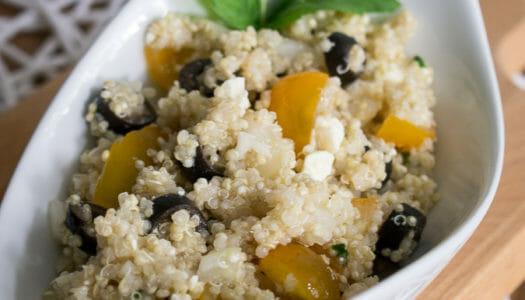 Griechischer Quinoa Salat Rezept