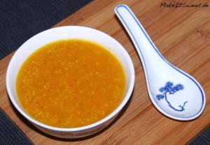 Kurbissuppe mit Quinoa Rezept vegetarisch vegan