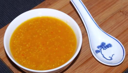 Kürbis-Quinoa-Suppe Rezept