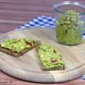 Avocado-Tomate-Brotaufstrich vegetarisch vegan Rezept