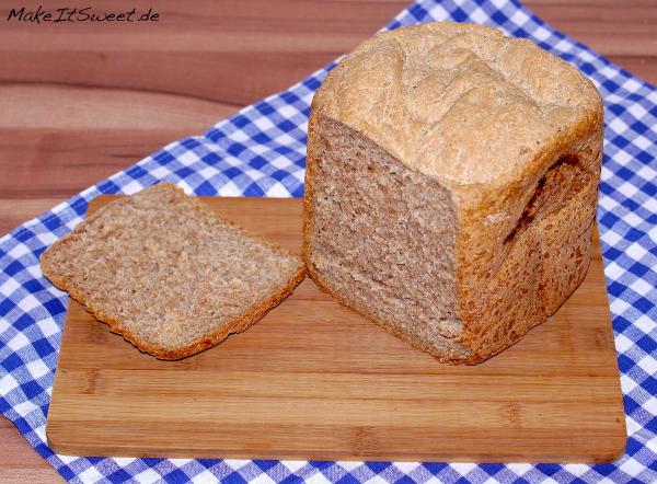 Joghurtbrot mit Kleie Brote Brotbackautomat Rezept einfach
