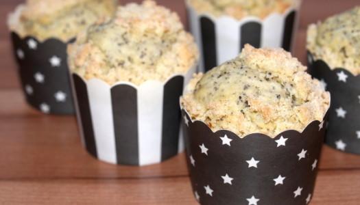 Mohn-Streusel-Muffin Rezept