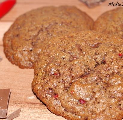 Schokolade Chili Cookies einfach Rezept