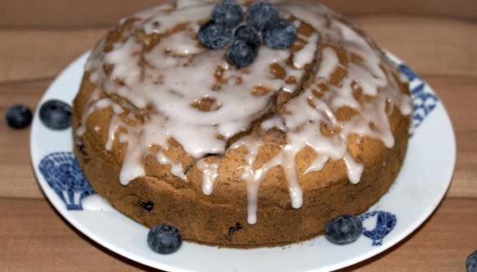 Glutenfreier Blaubeerkuchen mit Mandeln Rezept