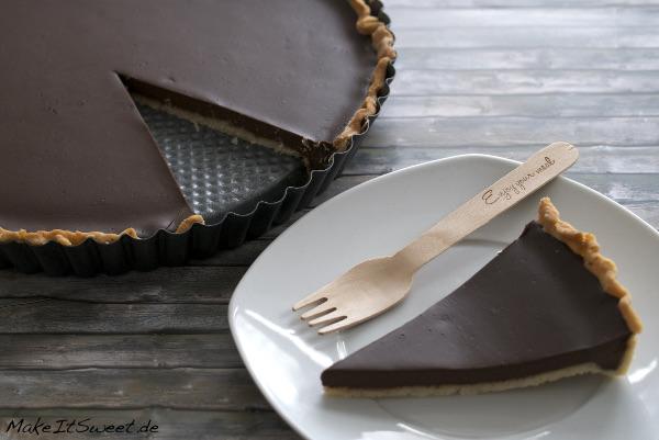 Tarte au chocolat Schokolade Schokoladentarte Rezept