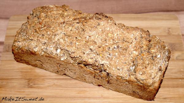 Vital Brot gesund schnell einfach Rezept