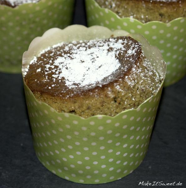 Matchamuffin Teemuffin gruen Muffinrezept Rezept