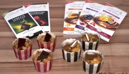 Muffins mit Schokostücken Rezept {Produktvorstellung}