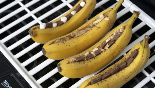 Gegrillte Bananen Rezept und Severin PG 2794 Barbecue-Grill {Produktvorstellung}
