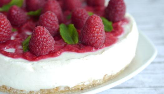 Himbeer-Minze-Torte ohne backen Rezept