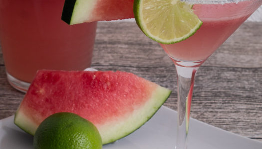 Wassermelone-Limetten-Margarita Rezept