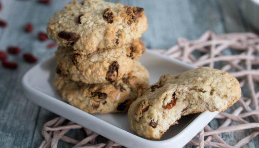 Goji-Beeren Haferflocken Kekse Rezept