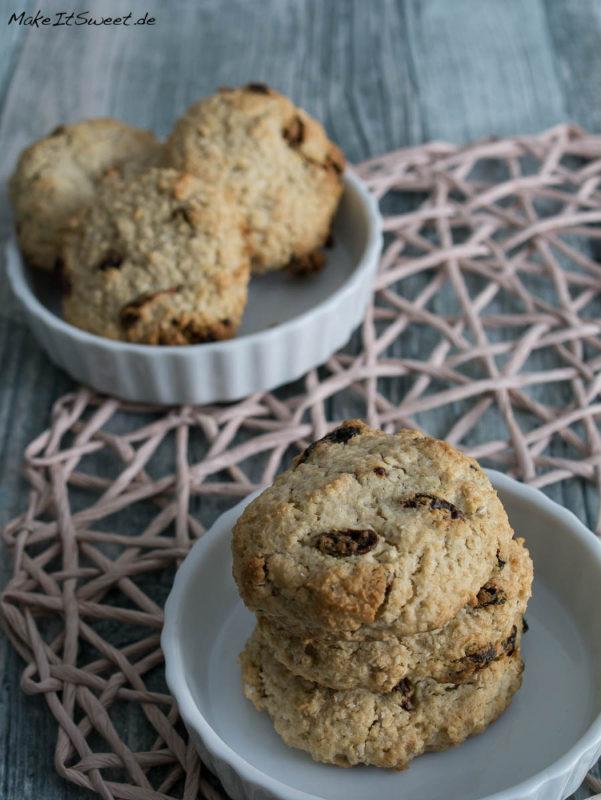 Goji-Hafer-Kekse Cookies Kokosmus lactosefrei Rezept