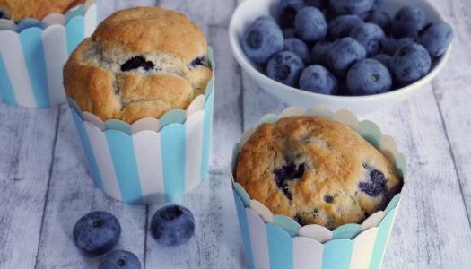 Vegane Blaubeer-Bananen-Muffins Rezept